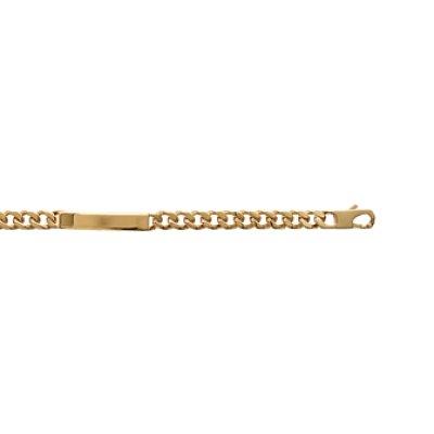 Bracelet plaqué or 750 3 microns longueur 21 cm