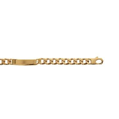 Bracelet plaqué or 750 3 microns longueur 22 cm