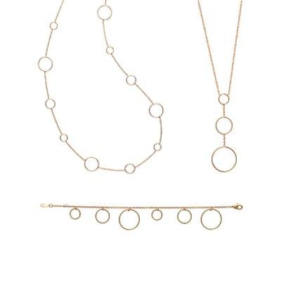 Bracelet plaqué or 750 3 microns longueur 18 cm